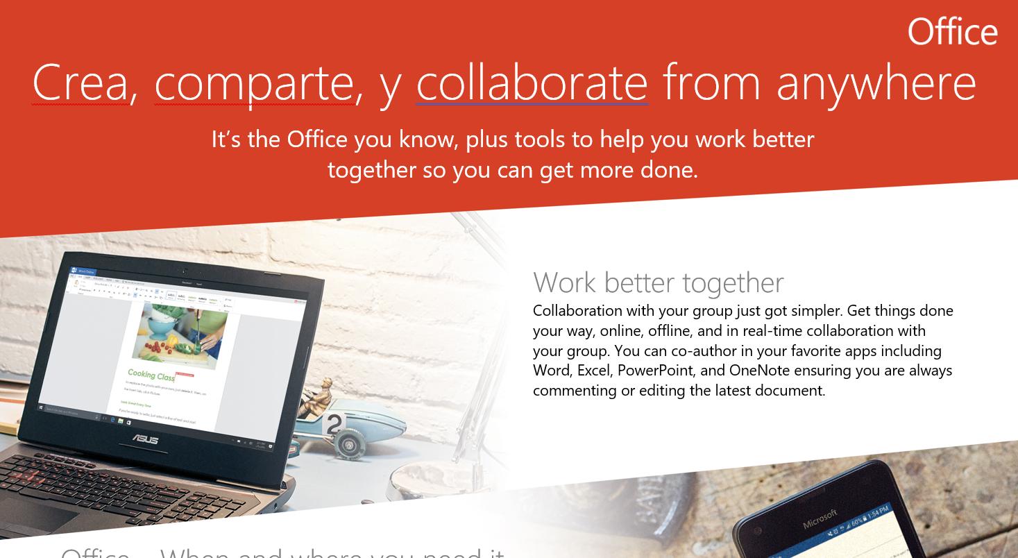 Office365 : FastTrack, recursos para la presentación y adopción de la plataforma.